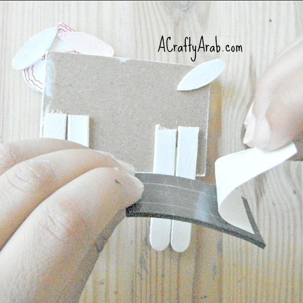 ACraftyArab Eid Mubarak Sheep Magnet8