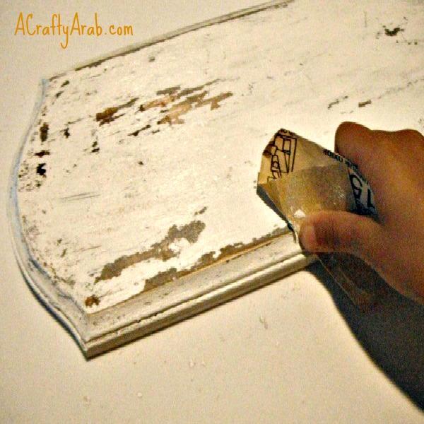 ACraftyArab Eid Party Distressed Wooden Sign Tutorial {Part 2}