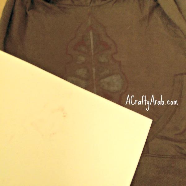 ACraftyArab Arabesque Sandpaper Shirt