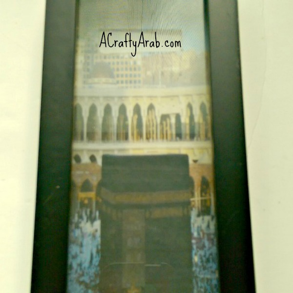 ACraftyArab Hajj Shadowbox Savings Bank8