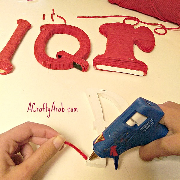 ACraftyArab Iqra Yarn Art4