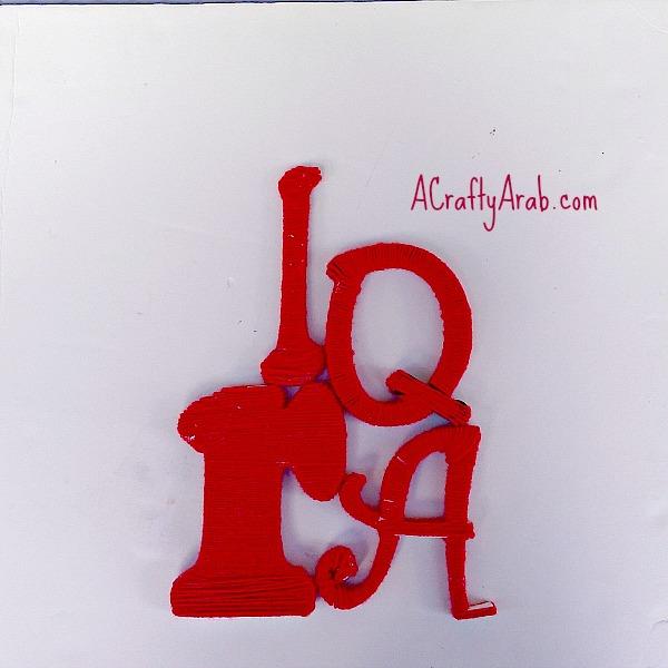 ACraftyArab Iqra Yarn Art5