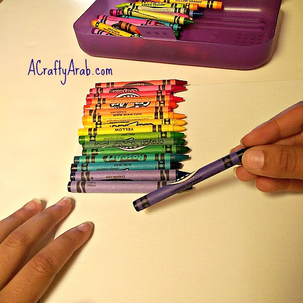 ACraftyArab Melted Crayon Allah Art2