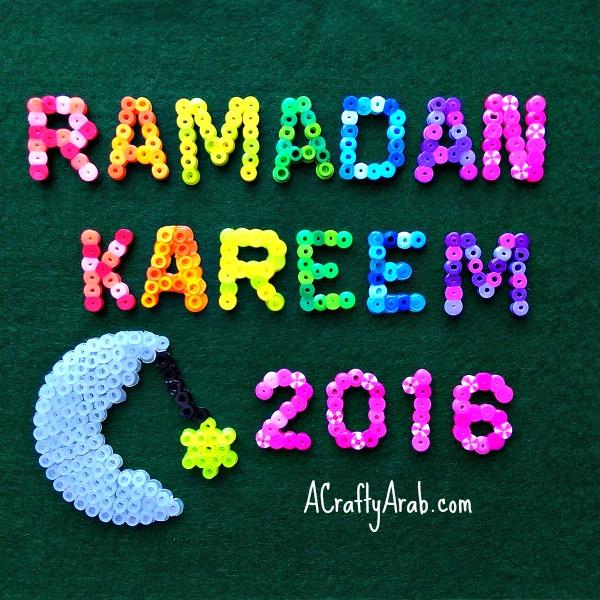 Ramadan Kareem 2016 beads