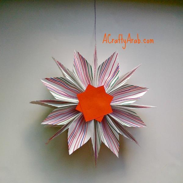 ACraftyArab Hanging Paper Bag Khatam9