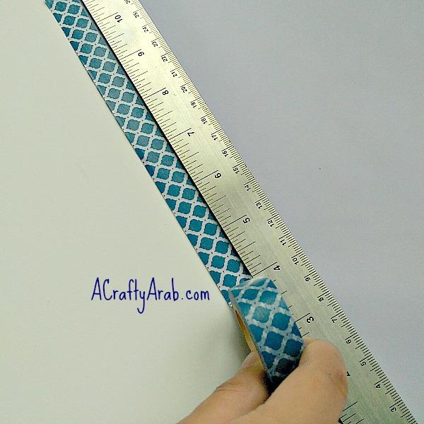 ACraftyArab Origami Star Eid Necklace2