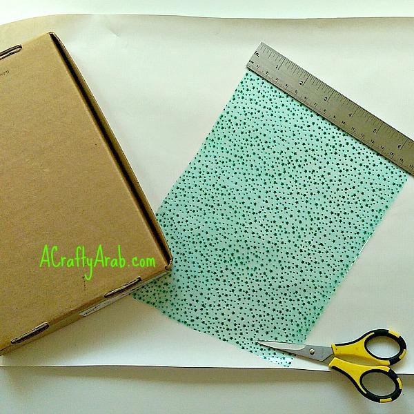 ACraftyArab Happy Eid Cut Out Wrapping Paper3