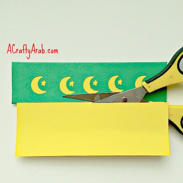 ACraftyArab Moon and Star Punch Art Bookmark Tutorial