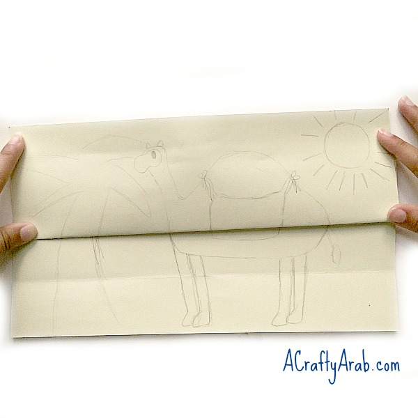 A Crafty Arab Camel Fold-in Tutorial