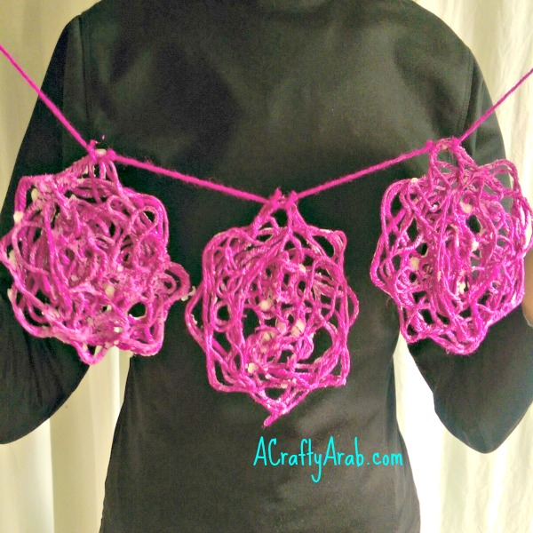 ACraftyArab Khatam Yarn Art Tutorial