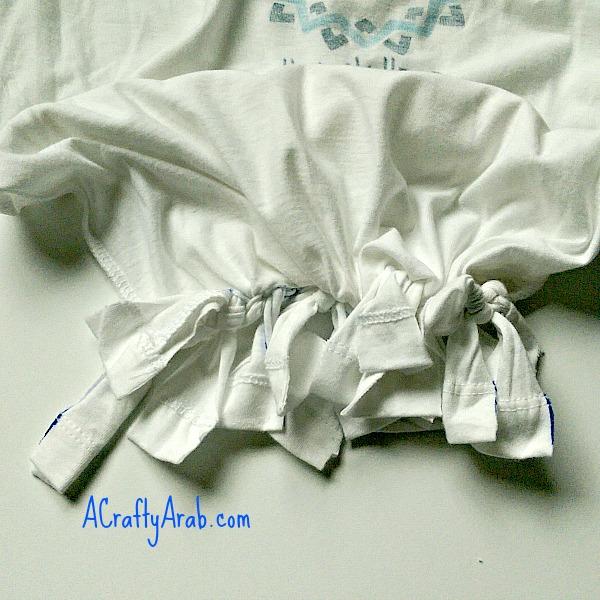 No Sew Tshirt Bag Tutorial