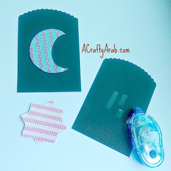 Eid Moon and Star Washi Favors {Tutorial} by A Crafty Arab