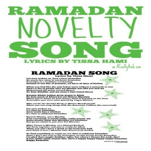 ramadan song, children novelty, Nursery rhyme