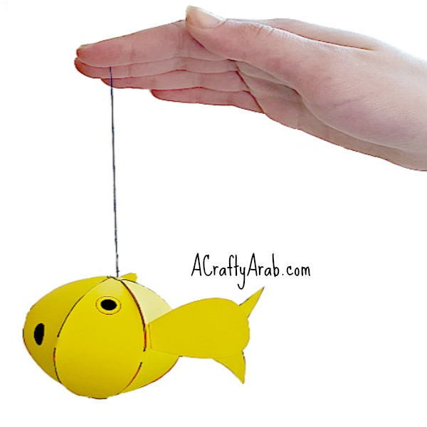 ACraftyArab Nowruz Paper Goldfish8