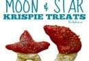 Chocolate Moon and Star Krispie Treats {Recipe}