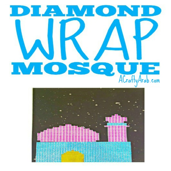mosque craft diy tutorial muslim kids islam