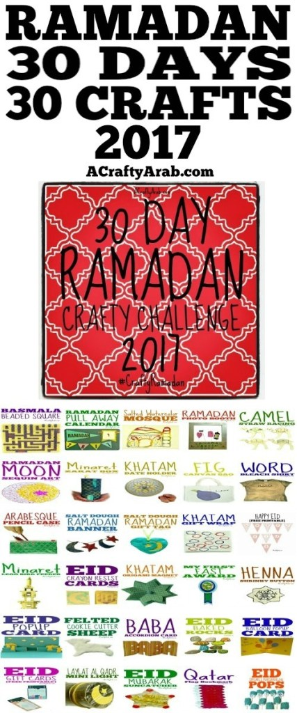 ramadan, crafts, children, kids, diy, muslim, islam, diy