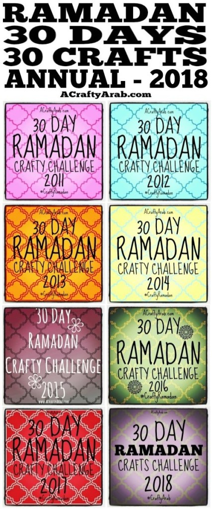 ramadan crafts, children, islam, muslim, diy, tutorial