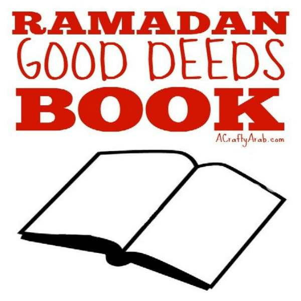 ramadan crafts, good deeds, book, diy, tutorial