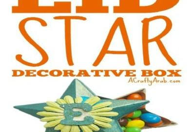 Eid Star Decorative Box {Tutorial}