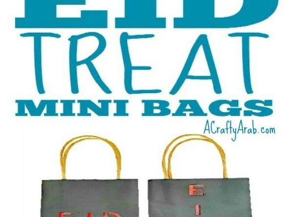 Eid Treat Mini Bags {Tutorial}