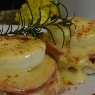 Simple Eggs Benedict by A Crafty Crew