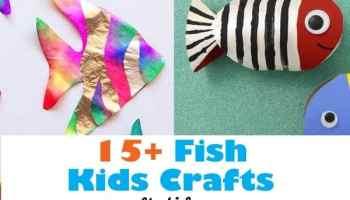 Fun Ocean Kid Crafts For Ocean Theme Week A Crafty Life