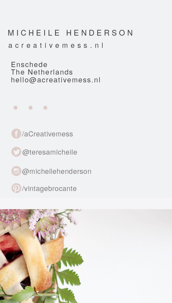 Free Business Card Template + Mock Up