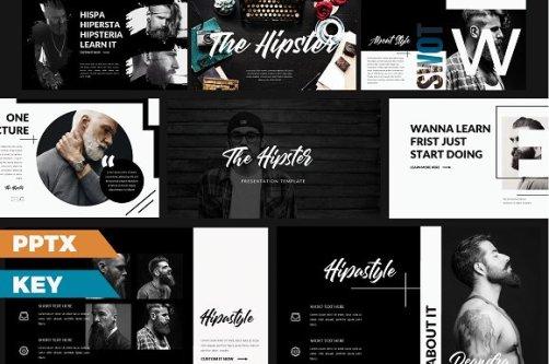 The Hipster Presentation // Creative Market Freebies via A Creative Mess