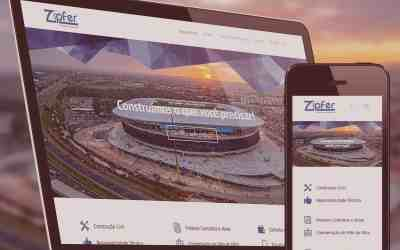 No Portifólio: Site Zipfer – Soluções em Engenharia