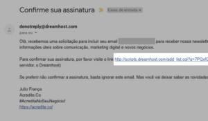 Confirma E-mail