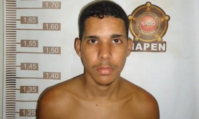 Wellington de Souza Lima foi recapturado na sexta-feira (7) no bairro Airton Senna, em Rio Branco — Foto: Divulgação/Iapen