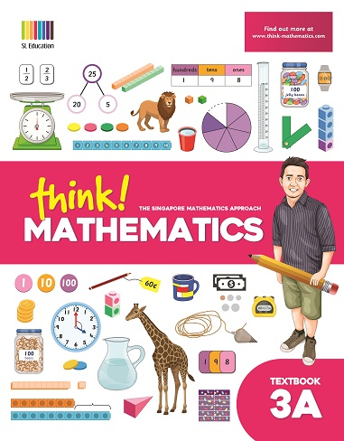 think Mathematics Textbook 3A in Philippines
