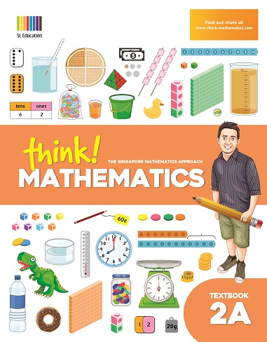 think Mathematics Textbook 2A in Philippines