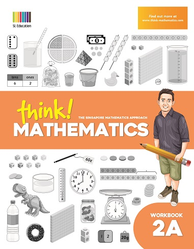 think Mathematics Workbook 2A in Philippines