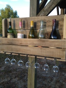 Wine Rack Natural