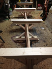 4 Trestle Base for 14ft Table