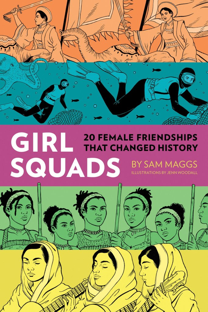 Girl Squads Book-themed events
