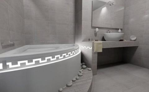 Termoformed Bathtub Panel