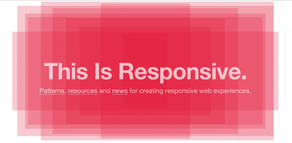 Brad Frost's This is Responsive Website