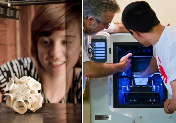 DeLaMare Library 3-D Printing