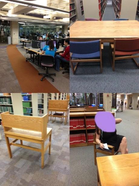 student images of ua main library via scvngr