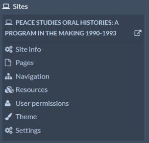 Sites inset