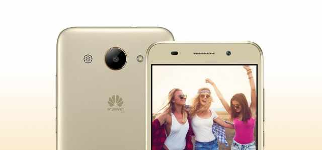 Huawei Y3 2018 первый смартфон компании на Android Go