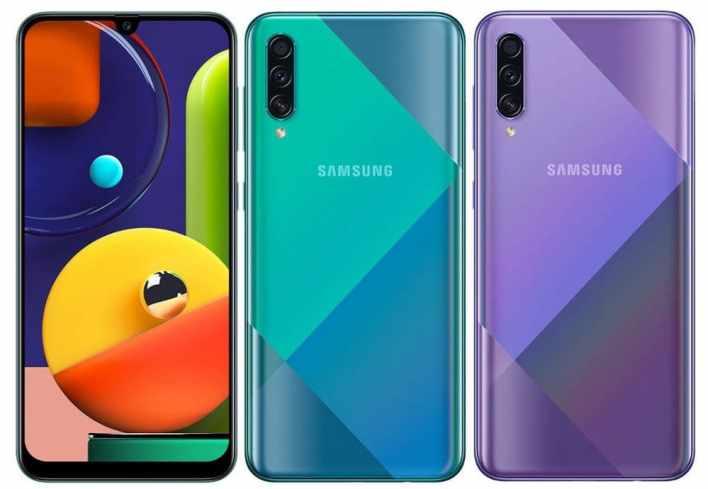 Samsung Galaxy A50s - будет представлена мощная новинка под Восток