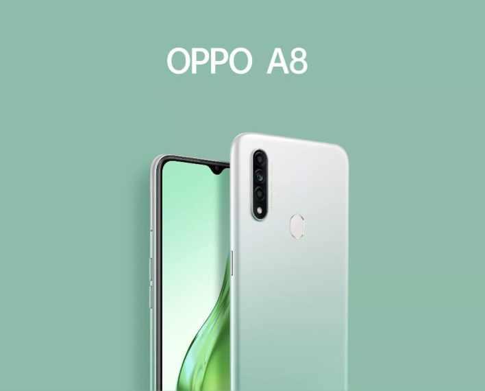 Oppo A8 - вторая новинка Oppo за месяц