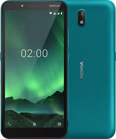 Nokia C2 зеленый