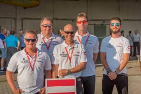 Das österreichische Team - Copyright: Ruda Jung