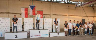 Siegerehrung, die Gesamtwertung Advanced (Halbautomaten) - Copyright: Ruda Jung