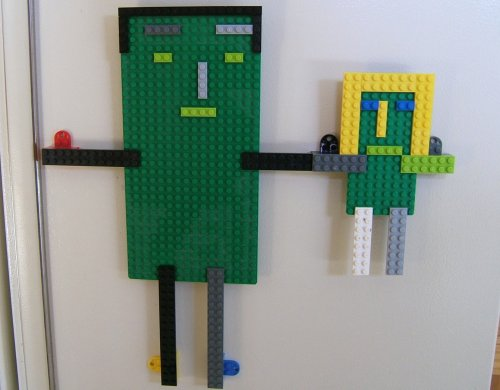 Lego Daddy and Daughter